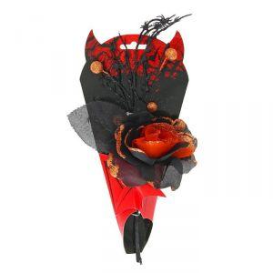 "Букет ""Вампир"" с пауками, цвет оранжевый 1052733"