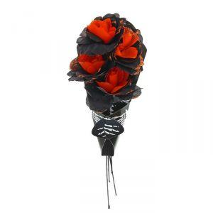 """Букет цветов """"Скелет"""", цвет оранжевый 1052732"""