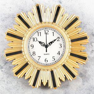 """Часы настенные, серия: Интерьер, """"Авориаз"""", 25х25 см, микс  4457333"""