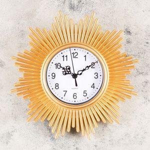 "Часы настенные, серия: Интерьер, ""Альвар"", 25х25 см, микс   4457337"