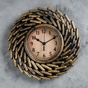 """Часы настенные, серия: Интерьер, """"Арсенал"""", d=12 см, 26х26 см   4460500"""