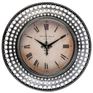 """Часы настенные, серия: Интерьер, """"Бетмаль"""", хром, d=30 см 3018347"""