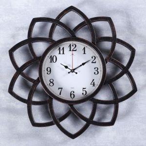 "Часы настенные, серия: Интерьер, ""Кабао"", бронза, 49.5 см 4551262"