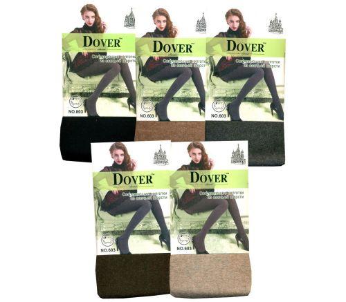 Женские колготки тёплые, шерсть-кашемир Dover 300Den S-L.DV603