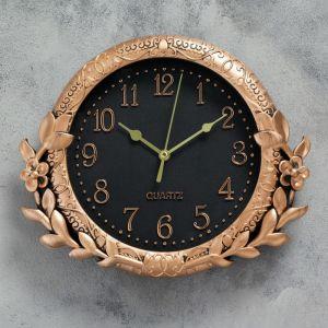 """Часы настенные, серия: Интерьер, """"Риверен"""", 26х22 см   4397567"""
