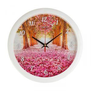 """Часы настенные, серия: Природа, """"Весеннее настроение"""", 28 ? 28 см 2436419"""