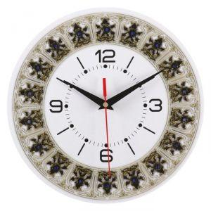 Часы настенные классика, круглые 24 см   3640636