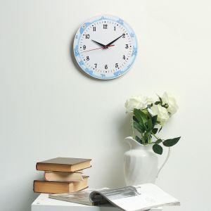 Часы настенные классика, круглые 24 см  микс 3640638