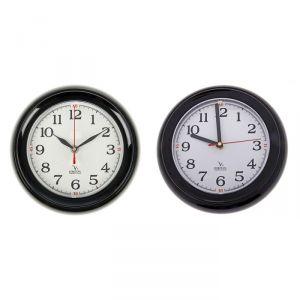 """Часы настенные круглые мини """"Секунды"""", чёрно-белые"""