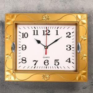 """Часы настенные, серия: Классика, """"Кассандра"""", 21.5х18 см, микс 2306986"""