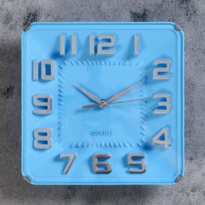 "Часы настенные, серия: Классика, ""Кендис"",  19х3х19 см, 1 АА,  плавный ход   4716065"