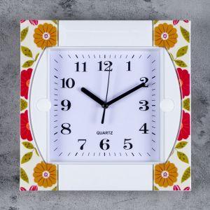 """Часы настенные, серия: Классика, """"Оливия"""", 25.5х25.5 см 3620814"""