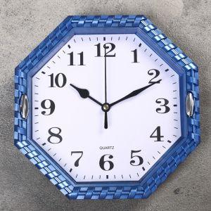 """Часы настенные, серия: Классика, """"Соты"""", микс, 22х22 см 1588304"""