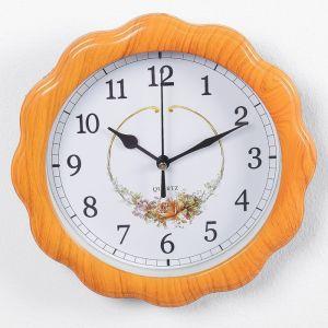 """Часы настенные, серия: Классика, """"Софи"""", 23х23 см, дискретный ход, 2457669"""