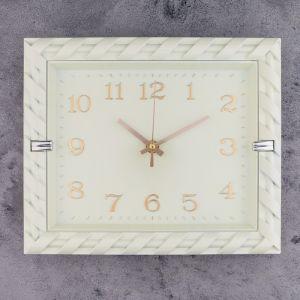 """Часы настенные, серия: Классика, """"Фурнари"""", 27х23 см   4515904"""
