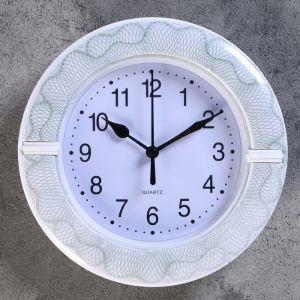 """Часы настенные, серия: Классика, """"Цветы"""", d=19 см, микс 4156406"""