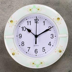 """Часы настенные, серия: Классика, """"Цинния"""", d=19см,  микс   4156409"""