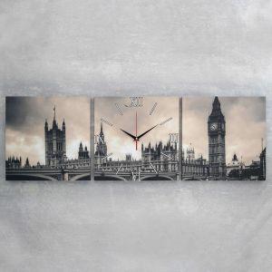 Часы настенные модульные «Биг-Бен», 35 ? 110 см