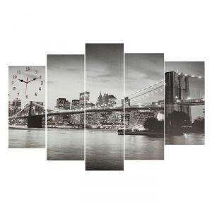 Часы настенные модульные «Мост», 80 ? 140 см
