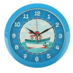 """Часы настенные, серия: Детские, """"Кораблик"""", 28х28 см 2633422"""