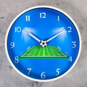"""Часы настенные, серия: Детские, """"Лига чемпионов"""", d=30 см   4432449"""