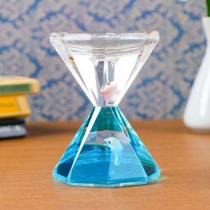 """Гелевые песочные часы """"Куллинан"""", 13х7 см, микс   4476143"""