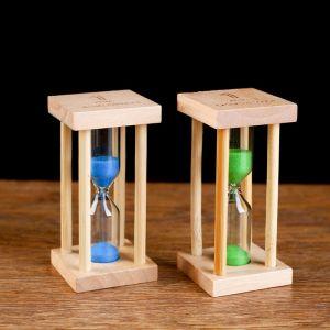 """Часы песочные """"Африн"""" на 1 минуту, 8.5х4.2 см, микс 1446281"""