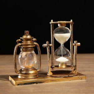 """Часы песочные """"Керосин"""" с подсветкой, 15.5х6.5х12.5 см, микс 3488509"""