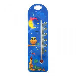 Термометр комнатный детский, цвет синий
