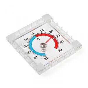 Термометр механический  LuazON, уличный, квадратный, 8 ? 8 см 769819
