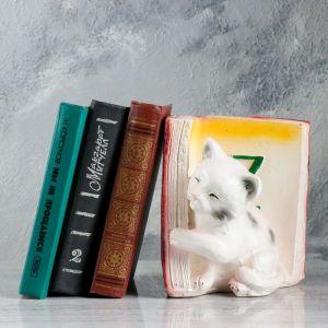 """Подставка для книг """"Котята - Z"""", бордо 19см   1659362"""