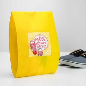 """Мешок для обуви """"Моя летняя обувь""""  Для девочки   4452146"""