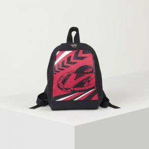 Рюкзак для мальчика тачки