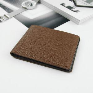 Портмоне мужское, отдел, для карт, цвет коричневый