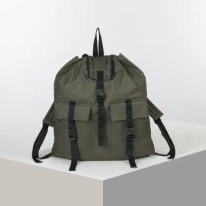 Рюкзак тур ТТ25, 25л, отд на шнурке, 2 н/кармана, хаки 4931729