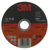 3М Круг отрезной для нержавеющей стали T41 125x1.0x22 мм