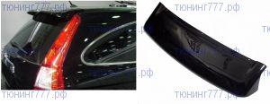 Козырек (дефлектор) на крышку багажника, SIM, темный