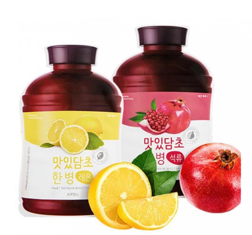 Тканевая маска  A'Pieu Fruit Vinegar Sheet Mask