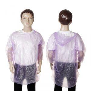 Дождевик детский «Весело гулять», фиолетовый