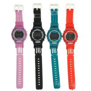 """Часы наручные детские """"Баловень"""", ремешок силикон, микс, l=20 см 839202"""