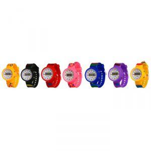 """Часы наручные детские """"Горошина"""", электронные, с силиконовым ремешком, микс, l=22 см 3102614"""