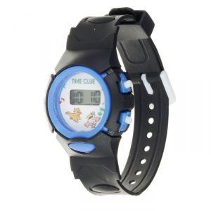 """Часы наручные детские """"Джуниор"""", электронные, ремешок силикон черный, микс, l=20 см   4151696"""