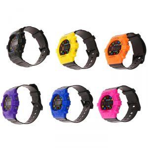 """Часы наручные детские """"Пиксель"""", электронные, с силиконовым ремешком, микс 3102615"""