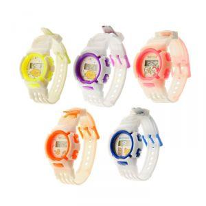 """Часы наручные детские """"Птенчик"""", электронные, с силиконовым ремешком, микс 839194"""