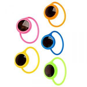 Часы наручные детские, с силиконовым ремешком на петельке, микс, 20 см 3102586