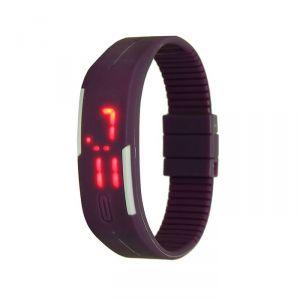 """Часы наручные """"Скайер"""", электронные, фиолетовые, l=25 см 1716941"""