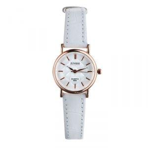 """Часы наручные женские """"Алецио"""", d=2.5 см, белый ремешок   4597400"""