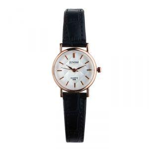 """Часы наручные женские """"Алецио"""", d=2.5 см, чёрный ремешок   4597399"""
