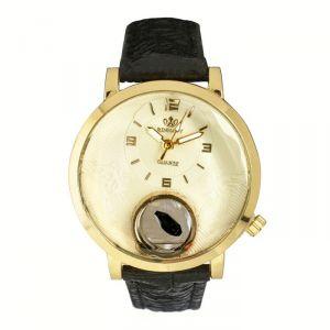 """Часы наручные женские """"Сердечко"""", циферблат d=3 см, черные   4415677"""