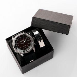 """Подарочный набор 2 в 1 """"Сокиталь"""": наручные часы и браслет   4508128"""